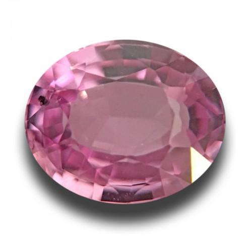 1.37 CTS | Natural Pink Sapphire | Loose Gemstone | Sri Lanka Ceylon - New