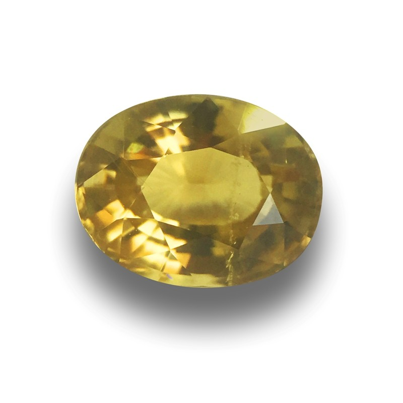 2.27 Carats   Natural Unheated Sinhalite Loose Gemstone New  Sri Lanka