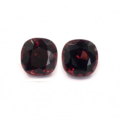 2.69/2.81 Carats | Natural Unheated Burma Spinel Pair|Loose Gemstone|New| Sri Lanka
