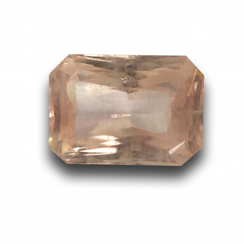 2.05 Carats | Natural Unheated Pinkish Yellow Sapphire|Loose Gemstone|New| Sri Lanka
