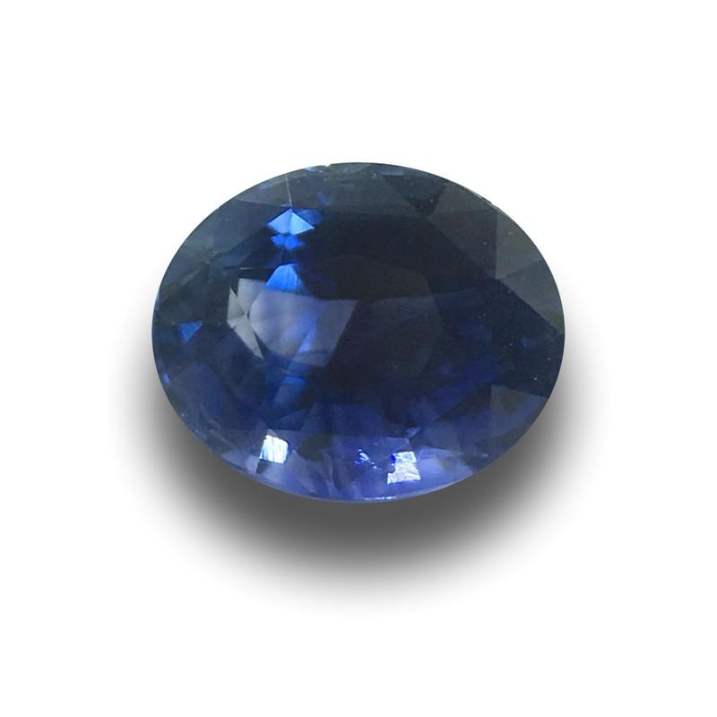 1.22 Carats   Natural Unheated Blue Sapphire Loose Gemstone New  Sri Lanka