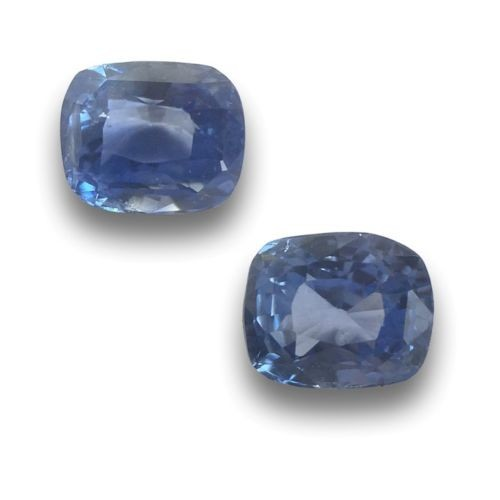 0.78/0.84 Carats | Natural Blue Sapphire|Loose Gemstone|New| Sri Lanka