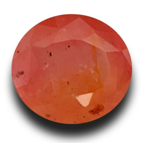 1.59 Carats | Natural Pinkish orange padparadscha |Loose Gemstone|New| Sri Lanka