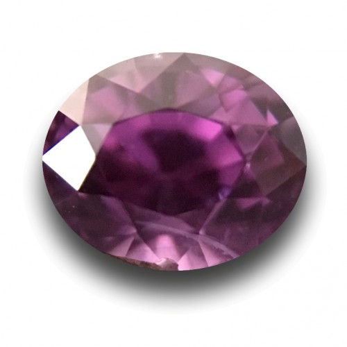 1.15 CTS Natural purple sapphire |Loose Gemstone|New Certified