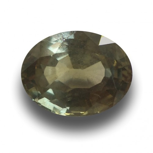3.69 Carats | Natural Unheated Green Sapphire|Loose Gemstone| Sri Lanka - New