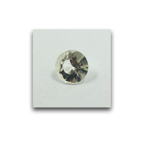 0.81 Carats | Natural Unheated White Sapphire|Loose Gemstone|New| Sri Lanka