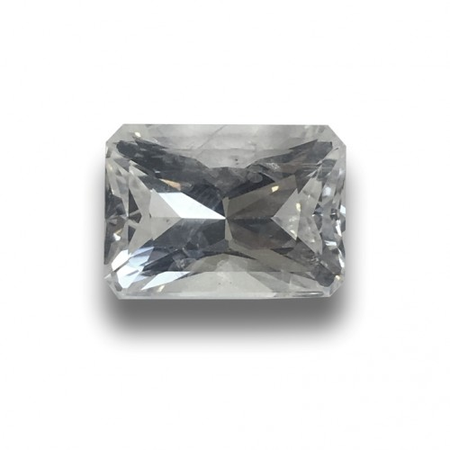 7.06 Carats | Natural Unheated White Sapphire|Loose Gemstone| Sri Lanka - New