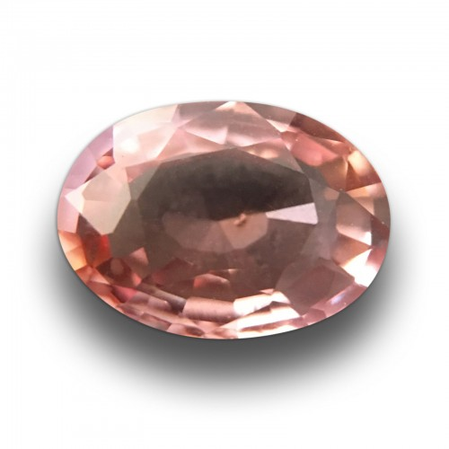 1.11 Carats | Natural Pink Orange Sapphire|Loose Gemstone| Sri Lanka - New