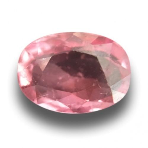 1.02 Carats | Natural Pinkishorange padparadscha |Loose Gemstone|New| Sri Lanka