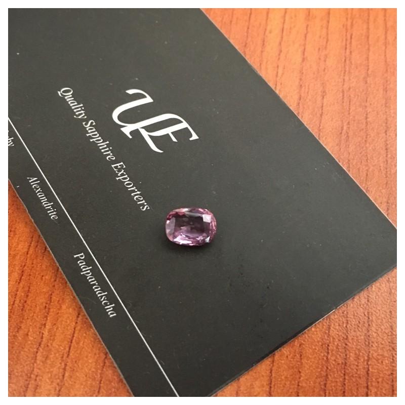 2.18 Carats | Natural Orange purple padparadscha |Loose Gemstone|New| Sri Lanka