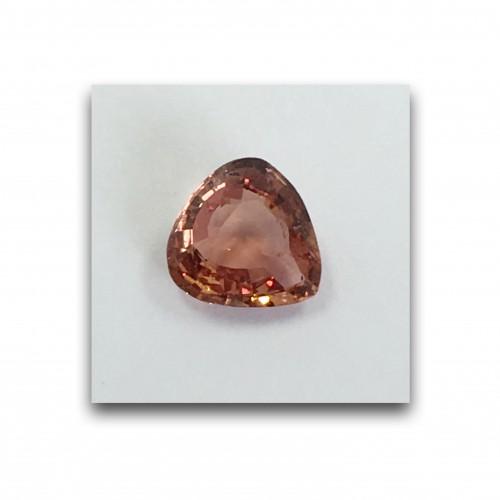 1.02 Carats | Natural Unheated Padparadscha |Loose Gemstone|New| Sri Lanka
