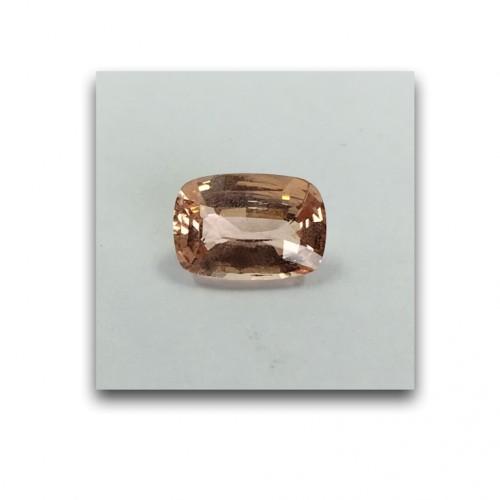 2.10 Carats | Natural Unheated Pinkish Yellow Sapphire|Loose Gemstone|New