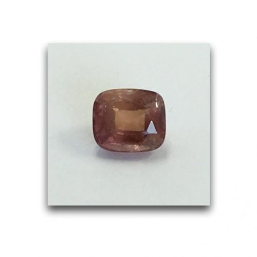 1.22 Carats | Natural Unheated Pinkish Orange Sapphire |Loose Gemstone