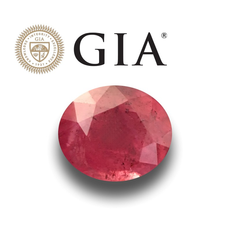 1.47 Carats | Natural Unheated Pinkish RED ruby |Loose Gemstone|New| Sri Lanka