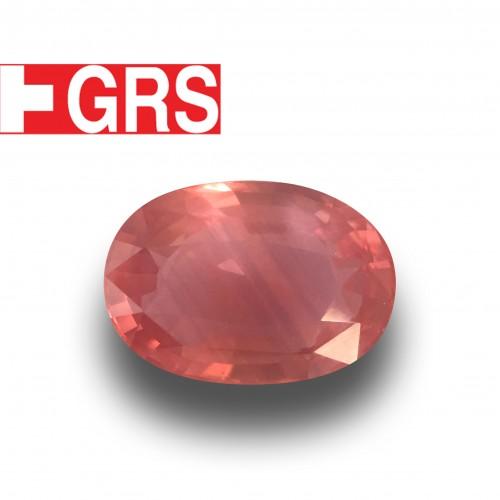 3.56 Carats GRS Natural Padparadscha |Loose Gemstone| Sri Lanka - New