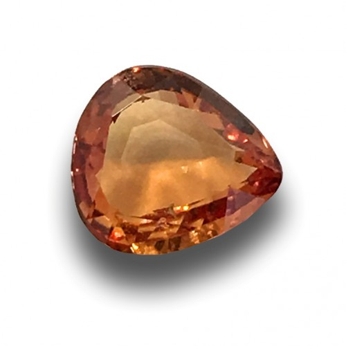 1.06 Carats | Natural Unheated Orange Sapphire |Loose Gemstone| Sri Lanka - New