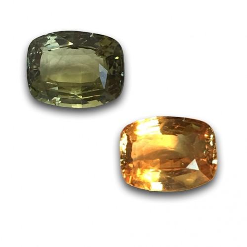2.00 Carats   Natural Chrysoberyl Alexandrit Loose Gemstone  Sri Lanka - New