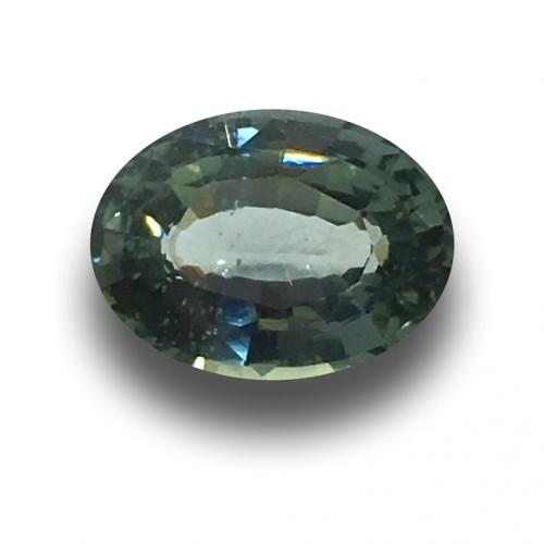 2.13 Carats |Natural Green Sapphire | Loose Gemstone | New| Sri Lanka