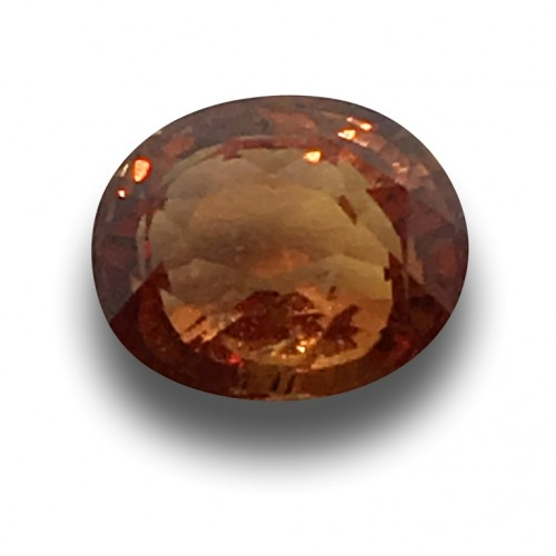 1.26 Carats | Natural Pinkish Brown Orange Sapphire|Loose Gemstone| Sri Lanka