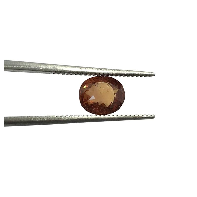 1.26 Carats | Natural Pinkish Brown Orange Sapphire|Loose Gemstone| Sri Lanka