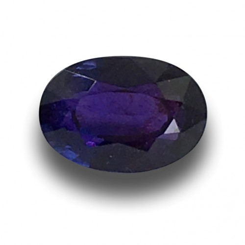 1.10 Carats | Natural Unheated Violet Sapphire|Loose Gemstone|New| Sri Lanka