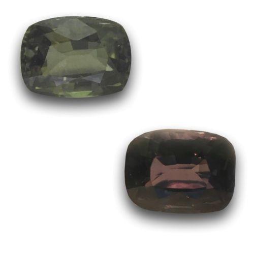 1.23 Carats | Natural Color Changing Sapphire |Loose Gemstone| Sri Lanka - New