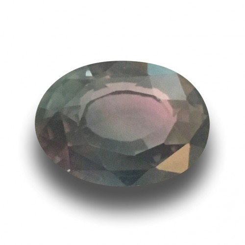 1.17 CTS | Natural Rare Multicolored Green Sapphire |Loose Gemstone | Sri Lanka