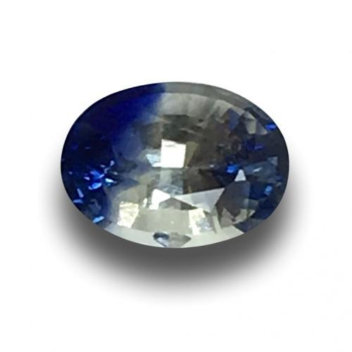 1.25 Carats | Natural Bi-Colour Sapphire|Loose Gemstone|New| Sri Lanka