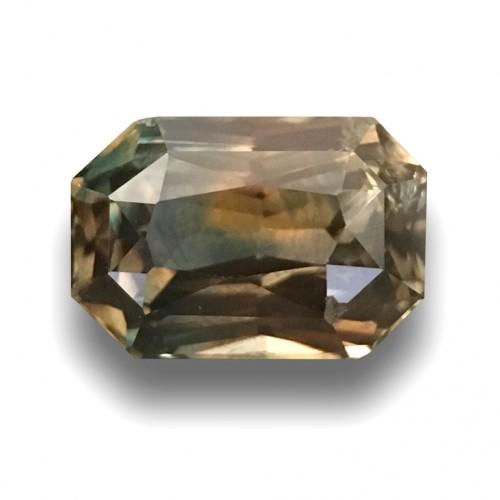 3.11 CTS | Natural Bi Colour Sapphire |Loose Gemstone|New| Sri Lanka