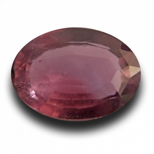 2.69 CTS | Natural Unheated Pinkish Orange purple sapphire |Loose Gemstone| Sri Lanka