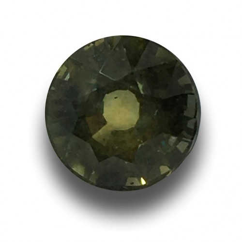 2.14 Carats |Natura lunheated Green Sapphire | Loose Gemstone | New| Sri Lanka