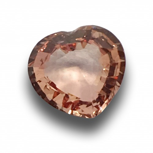 1.10 Carats   Natural Pinkish Orange Sapphire  Loose Gemstone  Sri Lanka