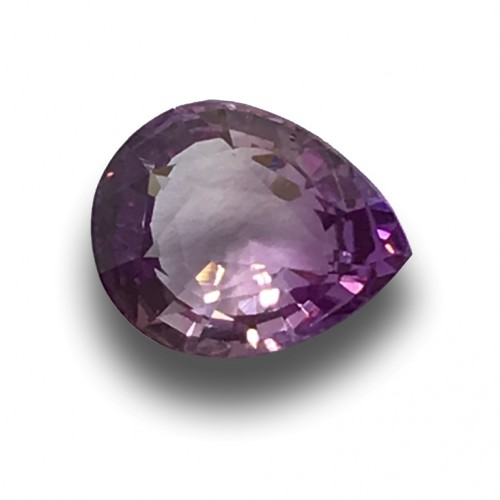 1.06 Carats | Natural Unheated Violet Sapphire|Loose Gemstone|New| Sri Lanka