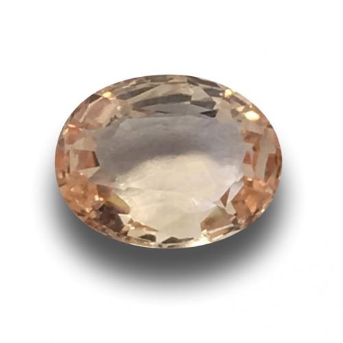 1.05 Carats | Natural Unheated Padparadscha|Loose Gemstone|New| Sri Lanka