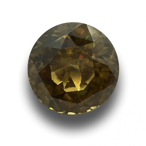7.26 Carats|Natural unheated zircon|Loose Gemstone|New| Sri Lanka