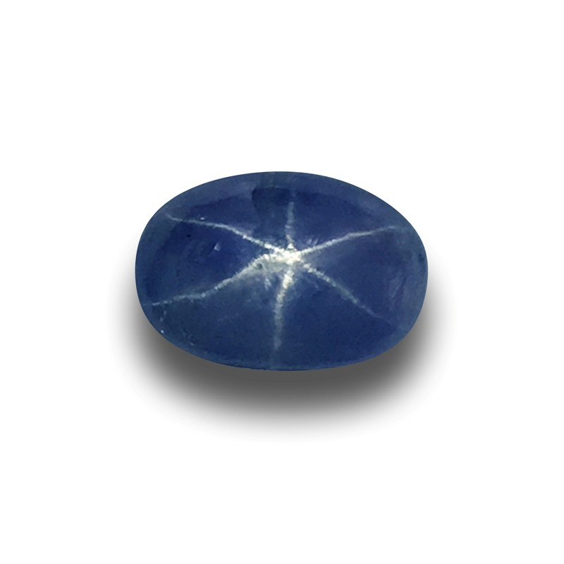 2.08 Carats | Natural Unheated Six - Ray Star Sapphire | Sri Lanka - New