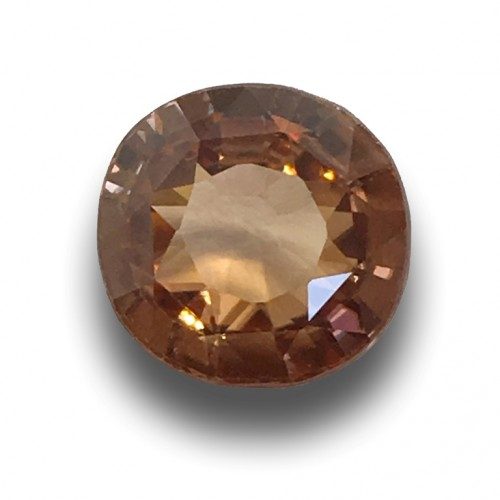 4.03 carats | Natural unheated ORANGE Zircon| Loose Gemstone| Sri Lanka - New