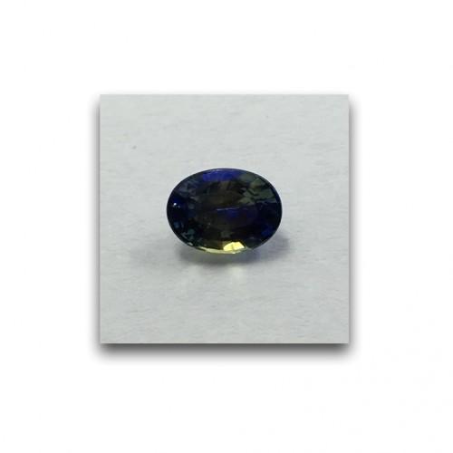 1.15 Carats | Natural Yellow Blue Sapphire|Loose Gemstone|New| Sri Lanka