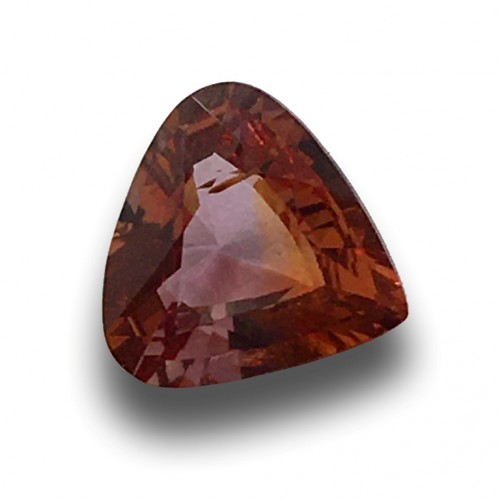 1.16 CTS   Natural orange sapphire  Loose Gemstone New  Sri Lanka