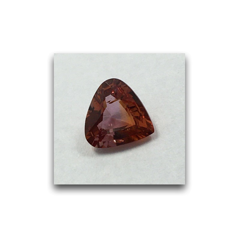 1.16 CTS | Natural orange sapphire |Loose Gemstone|New| Sri Lanka