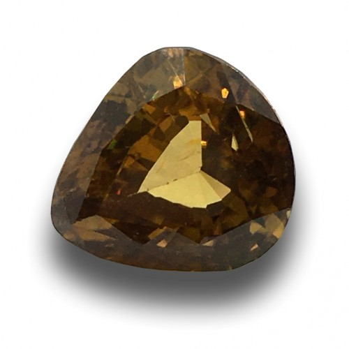 12.12 Carats | Natural Unheated Yellow Zircon|Loose Gemstone|New|