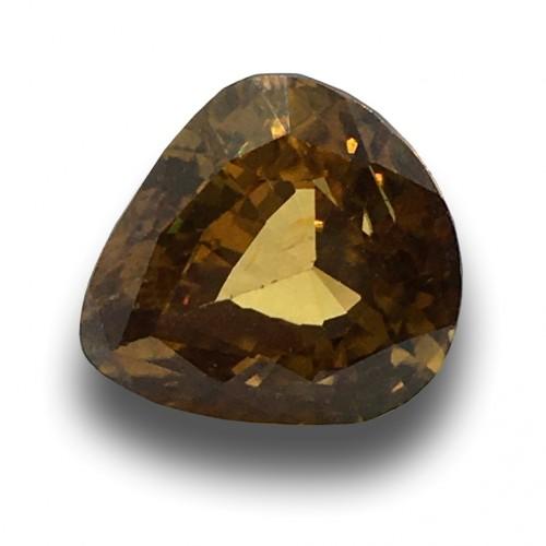12.12 Carats | Natural Unheated Yellow Zircon|Loose Gemstone|New|