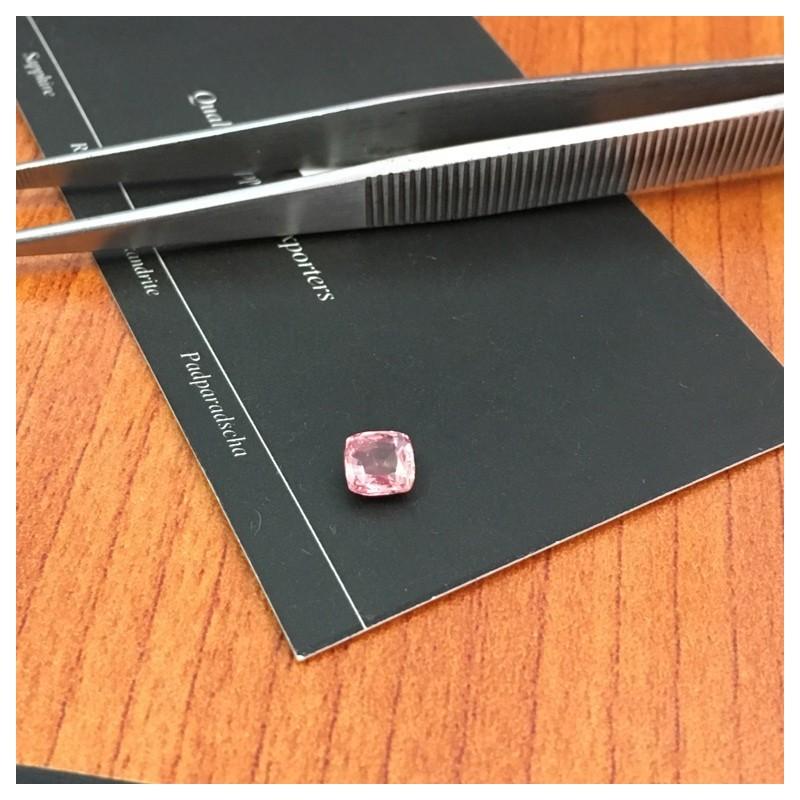 1.06 CTS |Natural Pinkish Orange purple padparadscha |Loose Gemstone| Sri Lanka