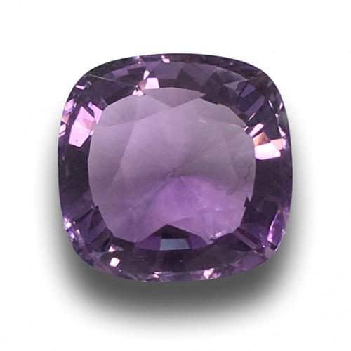 15.5 Carats   Natural Unheated Amethyst Loose Gemstone New  Sri Lanka
