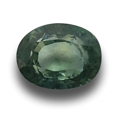 1.19 CTS | Natural unheated green sapphire |Loose Gemstone|New| Sri Lanka