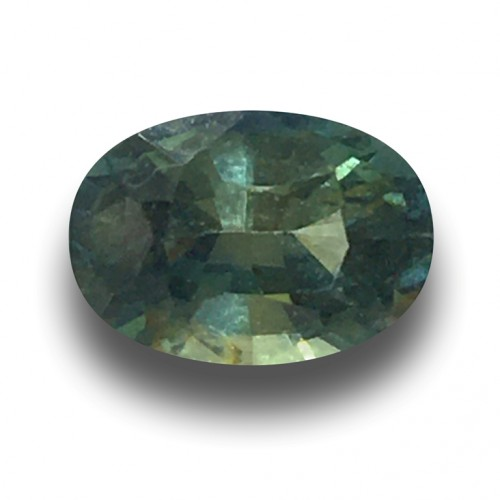 1.20 CTS | Natural unheated green sapphire |Loose Gemstone|New| Sri Lanka