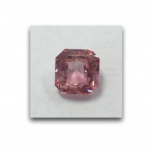1.25 Carats   Natural Unheated Padparadscha Loose Gemstone New  Sri Lanka