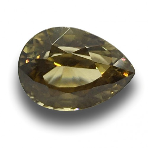 4.45 Carats | Natural Unheated Zircon|Loose Gemstone|New| Sri Lanka