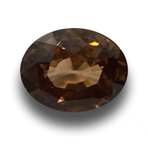 6.08 Carats   Natural Unheated Zircon Loose Gemstone New  Sri Lanka