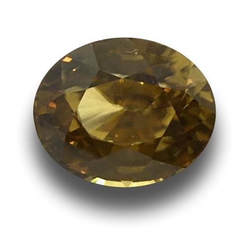 4.83 Carats   Natural Unheated Zircon Loose Gemstone New  Sri Lanka